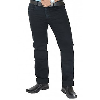 Rockin Blue Silky Denim Jeans (105Rock7254Blue1)