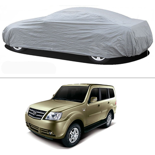 Stylobby Silver Car Cover For Tata Sumo