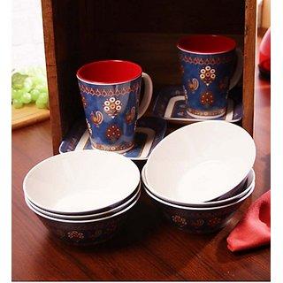 Superware(Ektra) Anokhi Tea Set - Set of 10