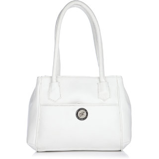 Fostelo Superior White Handbag
