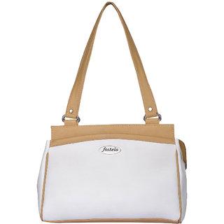 Fostelo Deena White Handbag