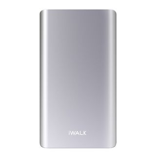 iWalk Rechargeable Power Banks 5000mAh for Smartphone / iPhone - Silver