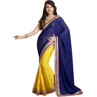 Porcupine Self Design Georgette Bollywood Sari PN-SR-PM-131