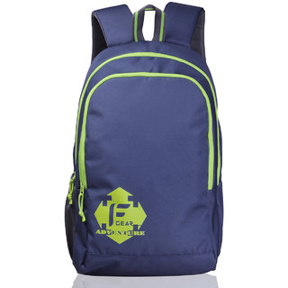 F Gear Castle - Rugged Base Navy Blue Green Backpack