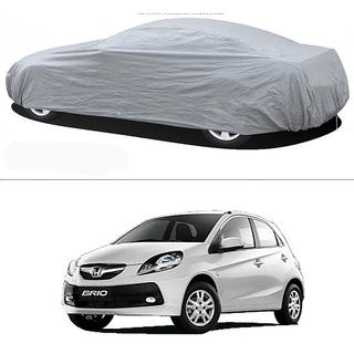 Stylobby Silver Car Cover For Honda Brio