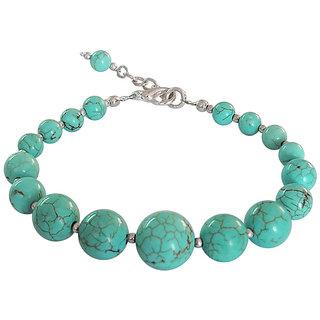 Howlite Turquoise Beads 8