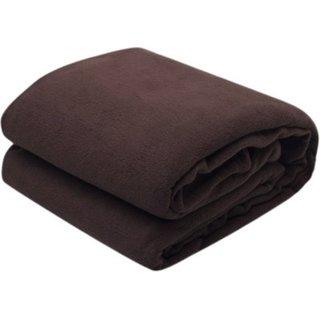 jazz multicolor polyster single fleece blanket ( buy 1 get 1 free )