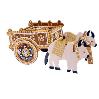 Handicraft Wooden Bail Gadi