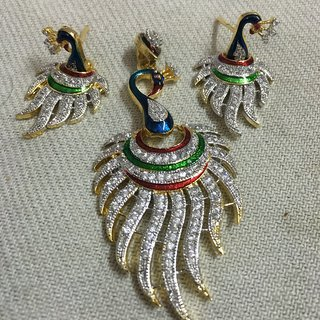 pendant with earing