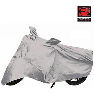 Favourite BikerZ FBZ 2W Cover 8852 Two Wheeler Cover         (Silver)