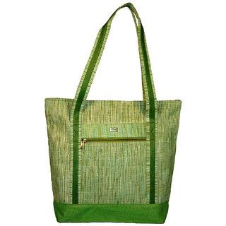 Clubb Jute Marketing Bag (Green)