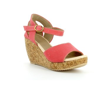 Nell Women's Pink Wedges