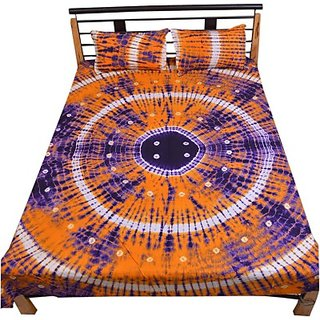 Cotton Printed Double Bedsheet(1 Bedsheet)