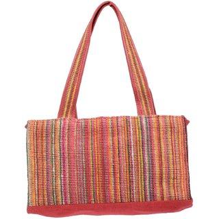 Clubb Jute Eco Dobby Handbag