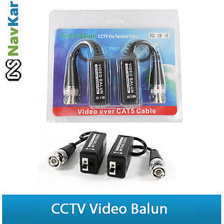 1 Ch Passive Video Balun For CCTV Camera  using with Twisted P Cable