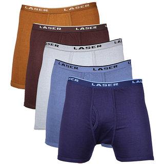Laser O/E Trunk - Pack of 5 (Brown-Dark Brown-Gray-Light Blue-Navy)