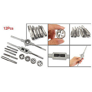 Tap Drill Bit Screw Die Thread Tool Set 12 Pcs/lot wood
