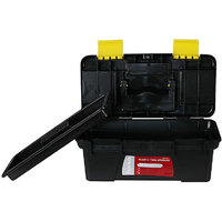 12.5/320mm MINI SMALL PLASTIC TOOL BOX WITH REMOVABLE TRAY CARRYING HANDLE
