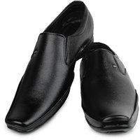 Do Bhai Men's Black Formal Shoes