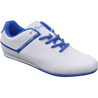 Men Power Shoes-MA112-White