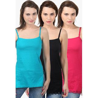 Bodycare Women'S Camisole Combo (E42SGRFUB)