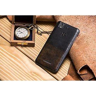 buy popular 23d3a 27d6e YU YBC5510 Back Case for Yureka AO5510 (Cocoa Brown)