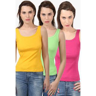 Bodycare Women'S Camisole Combo (E44FUPGRGOL)