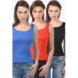 Bodycare Women'S Camisole Combo (E44RBLREB)