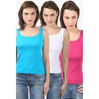 Bodycare Women'S Camisole Combo (E44TQFUW)