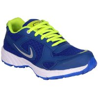 Jokatoo Mens Blue  Green Running Shoes