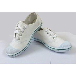 Buy School Shoes PT Shoes White Online