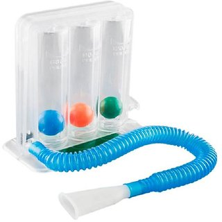 3 Balls Spirometer Respiratory Lung Exercizer