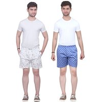 Cotton Printed Boxer For Men (Set Of 2)