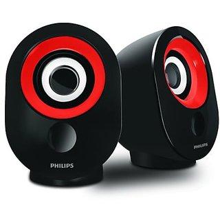 Epro  SPA-50 2.0 speaker with USB Plug (Red)