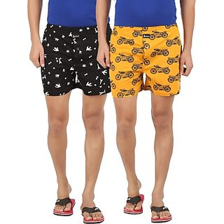Joven Mu03 Printed Mens Boxer (Pack of 2)