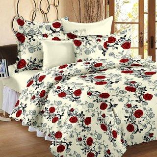 Rock Star 5 pcs Bed Sheet Size (230 X 250)...