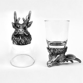 Animal Head Shot Glasses,50ml,Set of 2