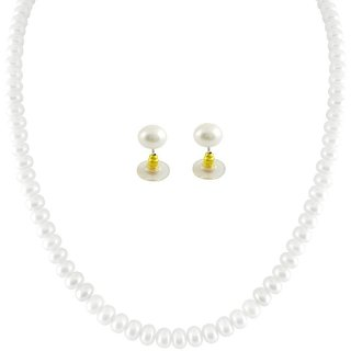 Hyderabadi Pearls Necklace set for Women 22 inches