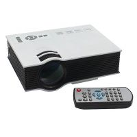UC40 Portable 800 Lumens 1080P Full HD Mini LED Projector Home Cinema Theater