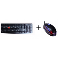 Combo Of USB Keyboard And USB Mouse
