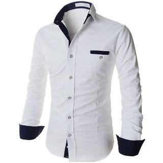 white color designer shirt 007: Buy white color designer shirt 007 ...