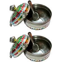 Decorative Multi-purpose Mukhwaas / Jewellery Box - Mee