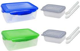 Lunch Box - Leak Proof (2pcs)