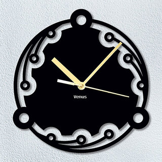 Venus Brand Round Stylist Antique Wall Clock 591 (Without Glass)