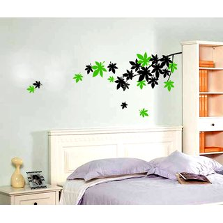 wall stencil love leaf