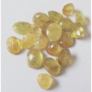 Certified Genuine Pukharaj Yellow Sapphire Gemstone