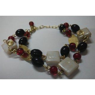 WOAP By Trisha Jewels Stunning Beach  Handicrafted Bracelet For Beachs  Rain Party (GHBR-4027)