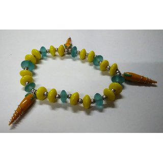 WOAP By Trisha Jewels Stunning Beach  Handicrafted Bracelet For Beachs  Rain Party (GHBR-4048)