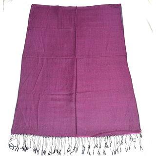 Sofias Exclusive Viscose Woven Medium Shawl,Size-70 cms x 200 cms,Color-Purple