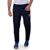 SURLY Mens Navy Blue Orange Polyester Track-Pant